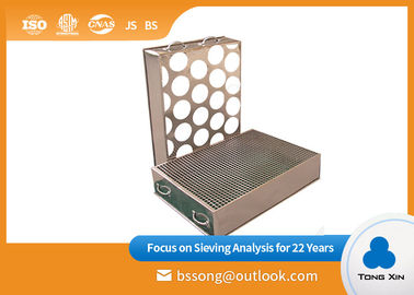 Round Shape Lab Test Sieves  Small Footprint Space Saving Food Industry Use